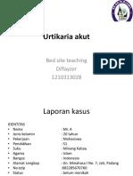 Urtikaria Akut Presentasi Bst