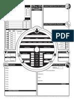 D&D 5e - Ficha Alternativa 2 Traduzida