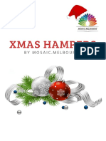 Mosaic Melbourne Xmas Hampers Catalogue