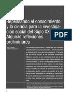 Barriga y Henriquez (2005) - Repensando El Conocimiento (1)