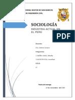 Informe Final Sociología-UNMSM PDF