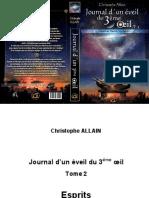 Allain Christophe - Journal d'Un Éveil Du 3ème Oeil Tome 2