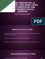 Consecuencias de La Crisis de 1929 Para Chile