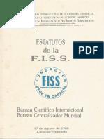 Estatutos de La FISS
