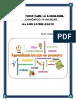 Guía de Estudio Para La Asignatura Estudios Económicos y Sociales