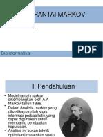 Bioinformatika Markov Chain