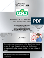 Referat Hemoptosis Dr.rudi