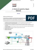Inyeccion Bosch Motronic MED7 Admision de Aire