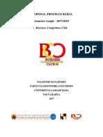 Proposal Program Kerja Bcc