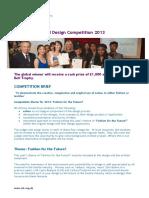 Design Competition Brief 2013