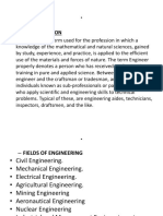 The Role of Engineers in National Develo