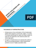 Restore and Improve Urban Infrastructure