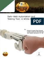 ZTS -2015_Sahi-Web Automation and Testing Tool
