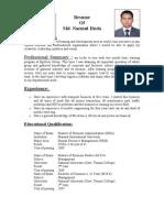 resume nazim