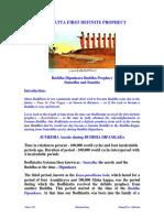 Bodhi Satta First Definite Prophecy