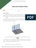 Vektor Satuan Dan Perkalian Vektor - Situs Belajar Online