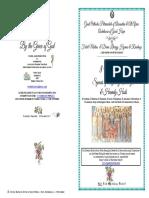 2017-8 Nov-holy Archangels-festal Matins & Div Lit Hymns