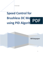 SPEED CONTROL FOR BLDC USING PID ALGORITHM