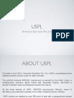 Uspl Brand Presentation