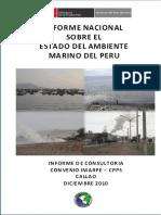 Informe Nacional Sobre El Estado Del Ambiente Marino Del Peru Word