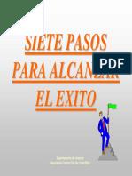 4.2 LIDERAZGO - SIETE PASOS PARA ALCANZAR EL ÉXITO