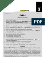 SOF Level 2 NSO Class 5