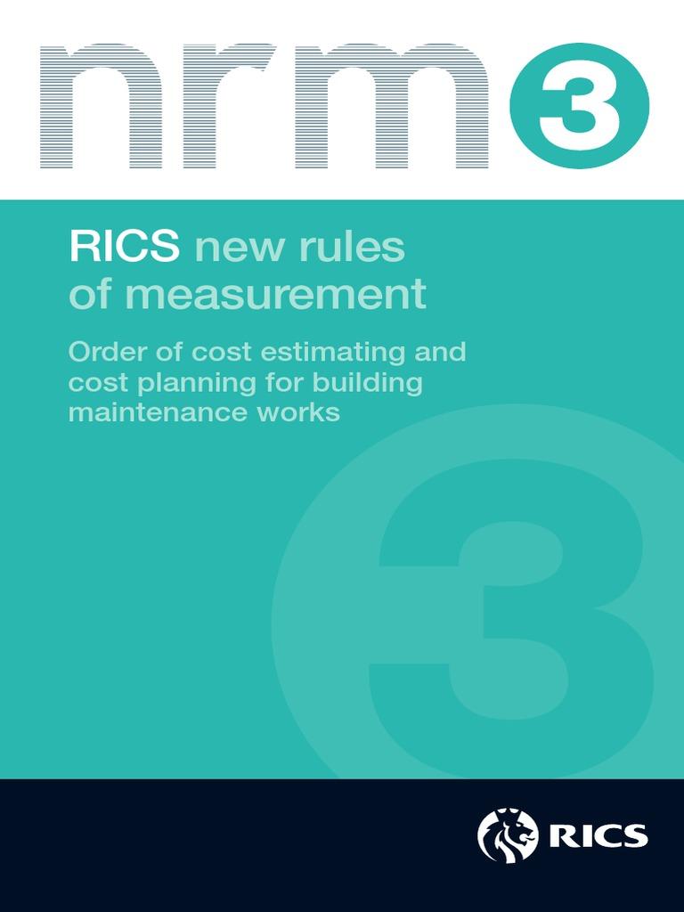 NRM_3_Building_Maintenance_Works_1st_edition_PGguidance_2013.pdf ...