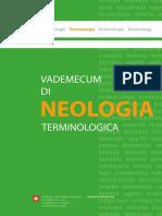 Vademecum Di Neologia Terminologica
