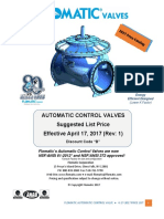 Flowmatic 2017 Price List ACV