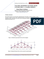 Design of Roof Trusses | Truss | Roof