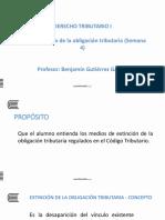 2017-5-13 Extinción de La Obligación Tributaria - Semana 4