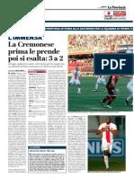 La Provincia Di Cremona 05-11-2017 - L'Immensa