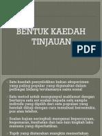 Presentation Kaedah Tinjauan.