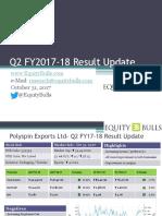 EquityBulls - Q2 FY17-18 - Result Update - Oct 31