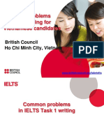 IELTS Briefing Common Problems in Writing