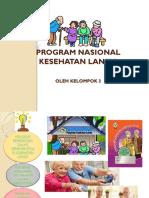 Program Nasional Kesehatan Lansia