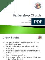 Barbershop Chords