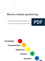 Blooms Related Questioning