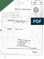 Εκθεση του FBI για τον Μάρτιν Λούθερ Κινγκ