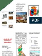 Triptico Cajamarca