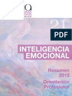 Inteligencia Emocional AOSMA 2015