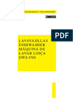 Lavadora Zanussi Dws4704