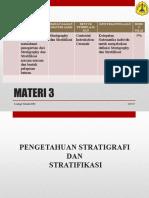 3. Stratigraphy Dan Stratifikasi