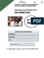 MATEMÁTICA CALLAO 6°
