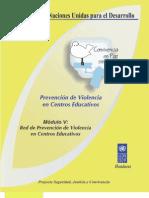 Red de Prevencion de Violencia en Centros Educativos