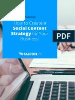 Falcon.io How to Create a Social Content Strategy Handbook HBH