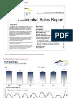 July 2010 Market Statistics - Austin Real Estate
