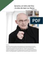 Jean Luc Nancy