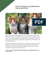 9 Arti Bahasa Tubuh Kucingmu Yang Memberimu Petunjuk Soal Apa Yang Dia Mau