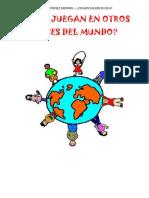 """Proyecto EF """"Los mochileros de 6º"""""""
